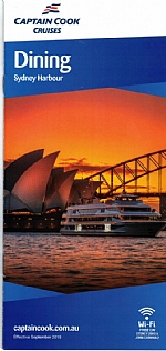 Captain Cook Cruises - Dining