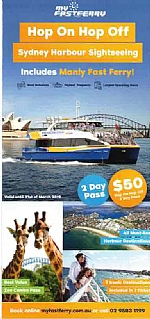 Eco Hopper / My Fast Ferry Hop On Hop Off 24 Hr