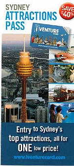 iVenture Card - Sydney Attractions Pass Brochure