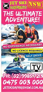 NSW Jet Ski Safaris