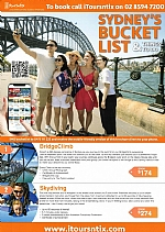Sydney Bucket List & Things To Do