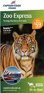 Captain Cook Cruises - Zoo Express