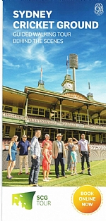 SCG Sports Guided Walking Tours